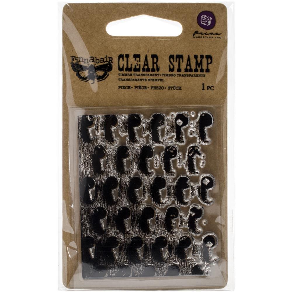 Finnabair Clear Stamps- Industrial