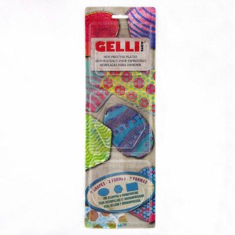 Gelli Plate Mini Oval, Rectangle Hexagon