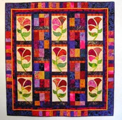 Batik Wildflowers Kit