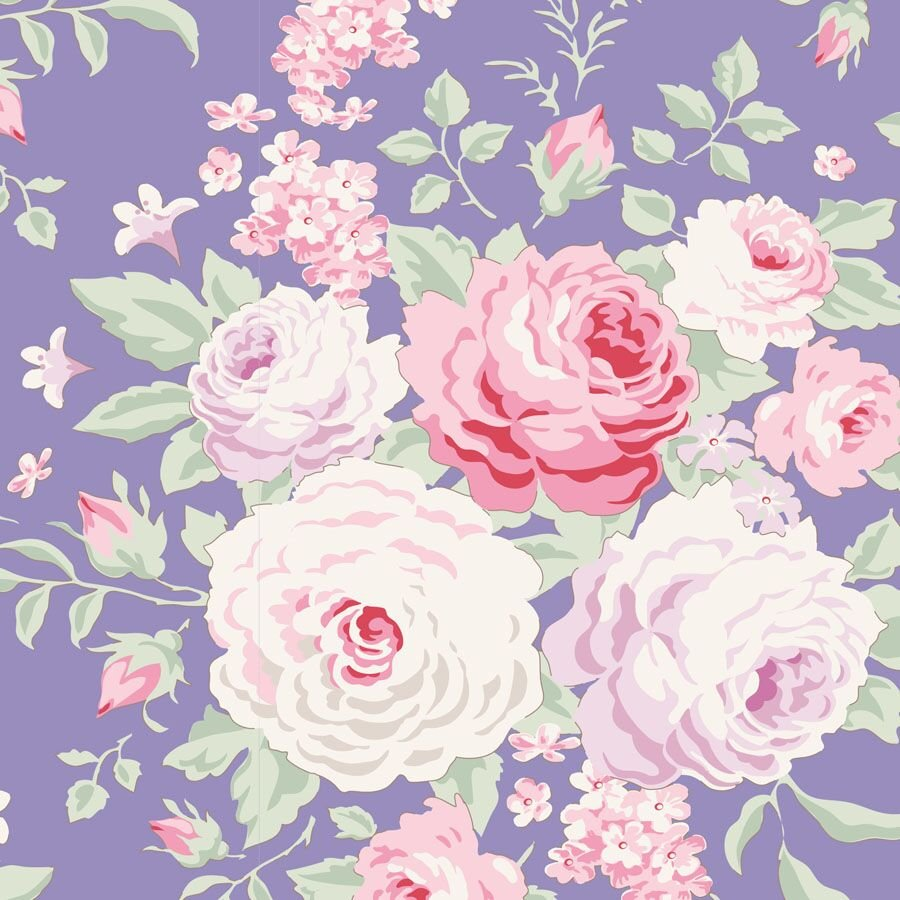 Tilda Old Rose - Lydia Blue