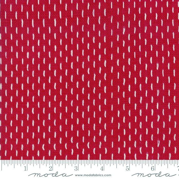 French Sashiko Wovens Rouge 12562 11