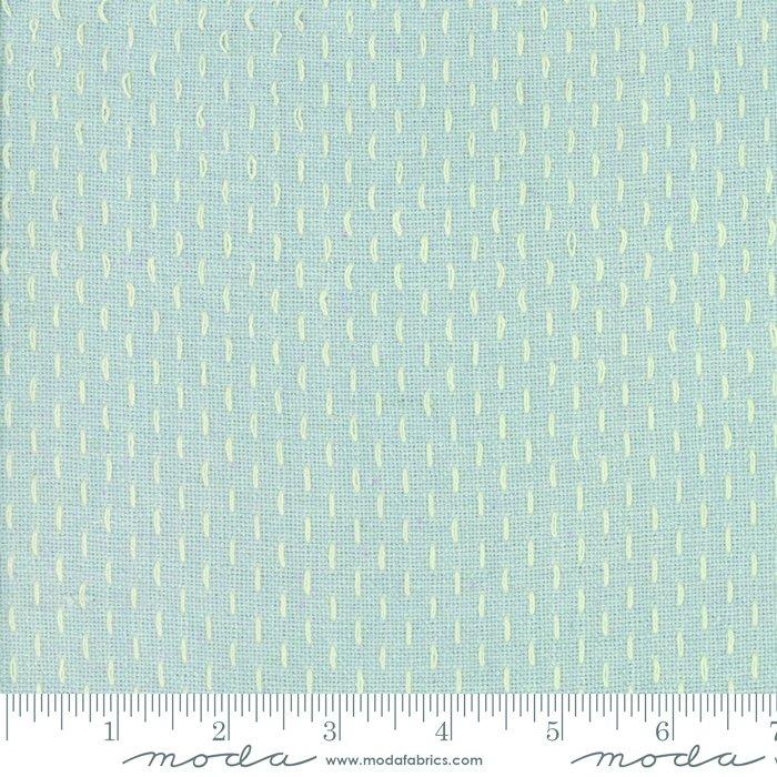 French Sashiko Wovens Blue Dust 12562 13