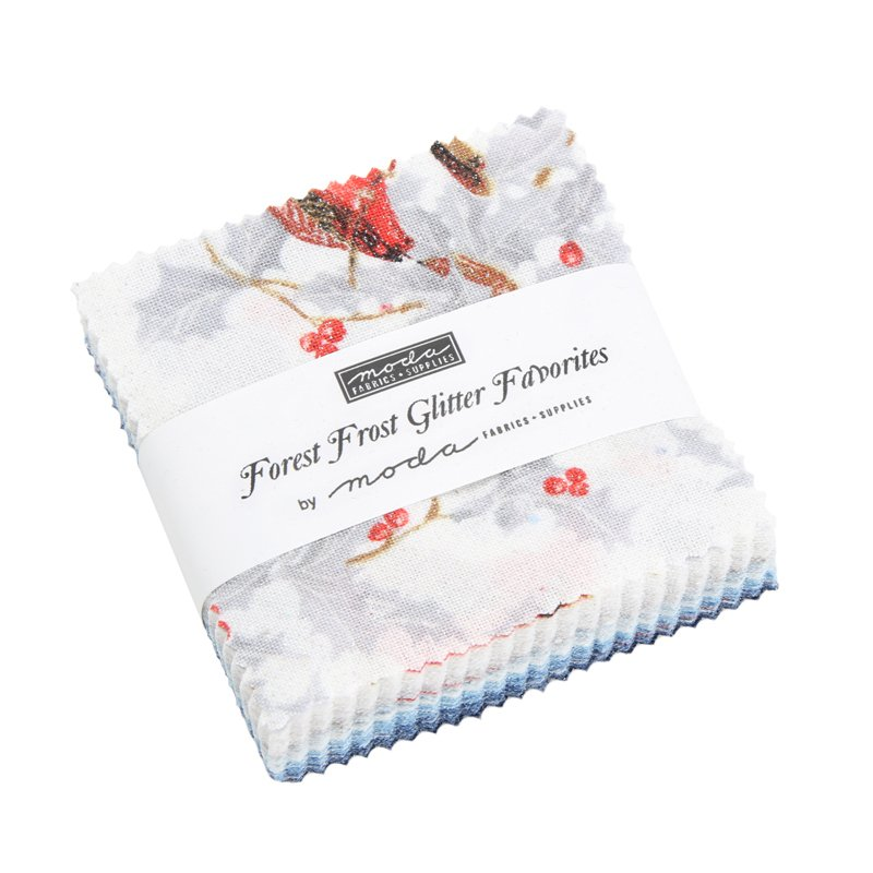 Forest Frost Glitter Favorites Mini Charm Squares