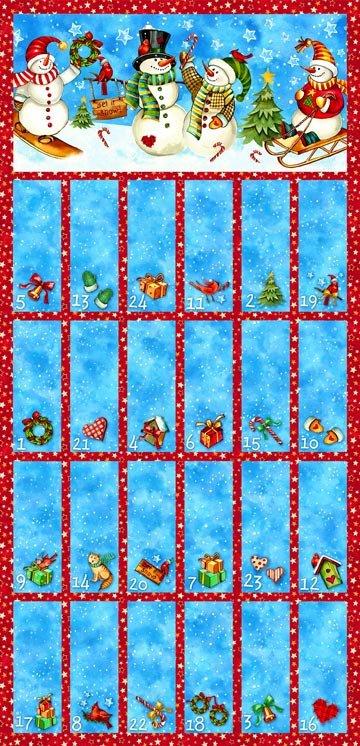 Winter Magic Panel 21070 42