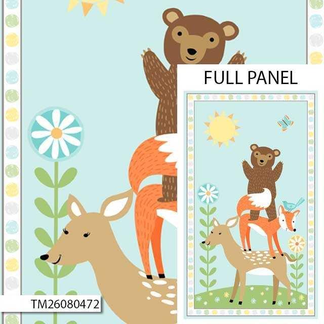 Sweet Meadow Flannel Panel 26080 472