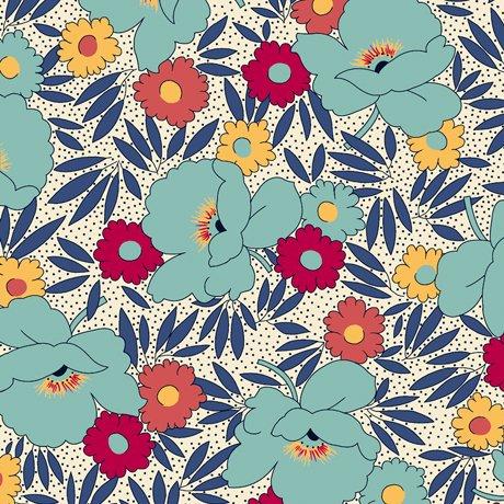 Harlow - Floral & Leaf - 26510 Q