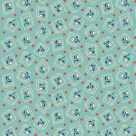 Harlow - Floral Squares - 26512 Q