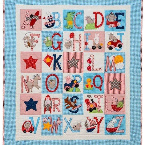 ABC Boys Quilt Pattern