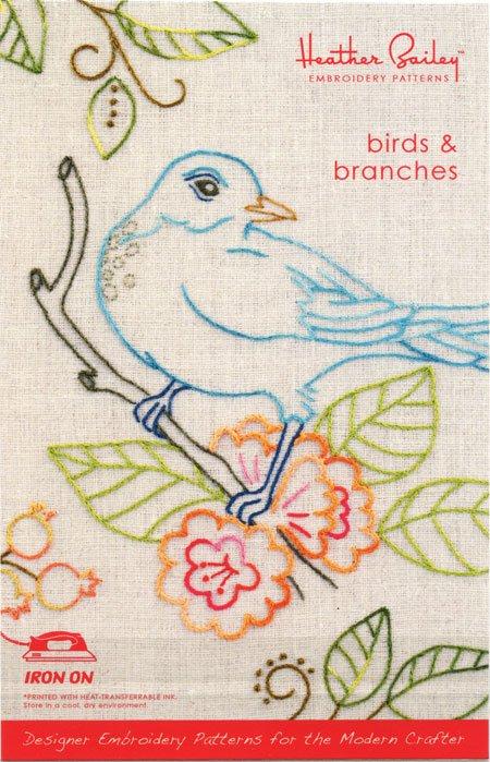 Birds & Branches Pattern