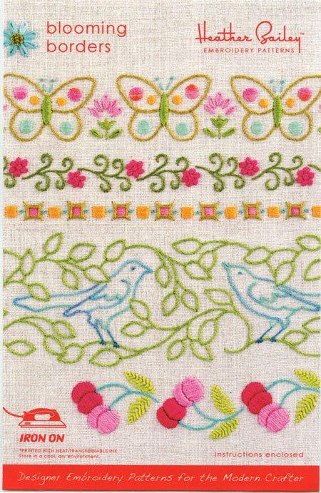 Blooming Borders Pattern