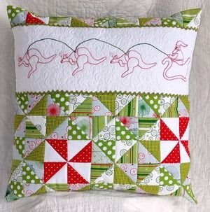 Booming Christmas Cushion