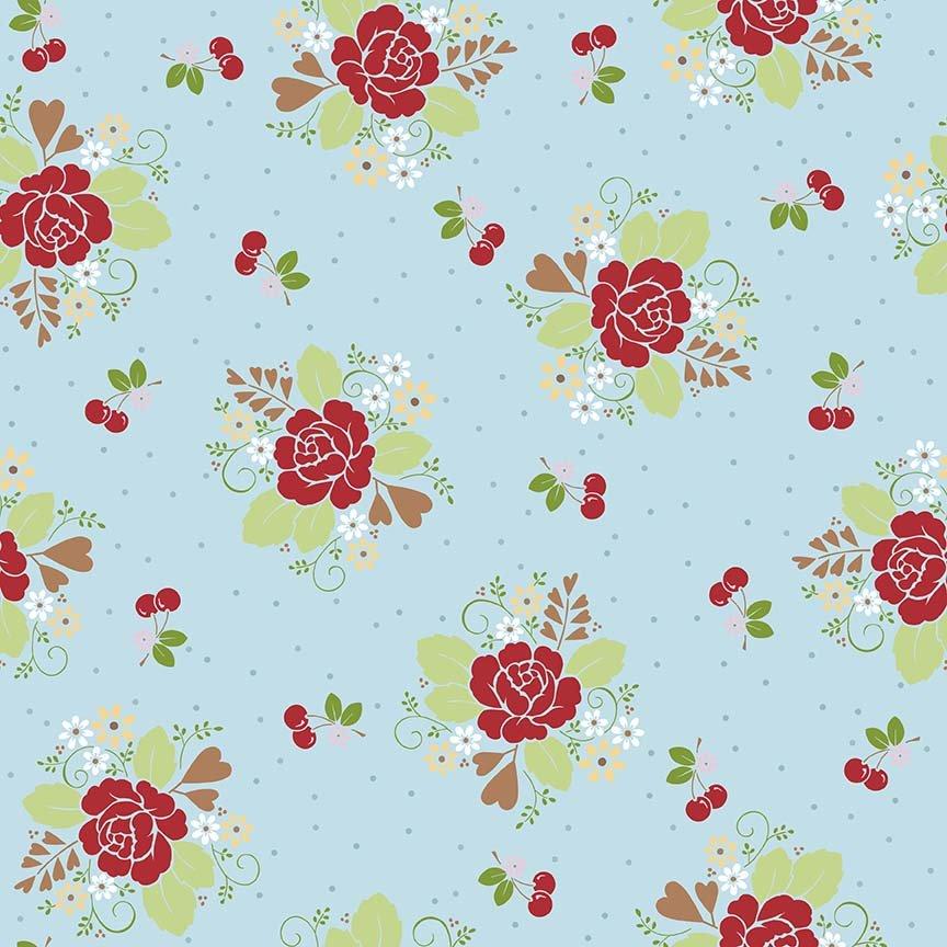 Sew Cherry 2 C5800 Aqua