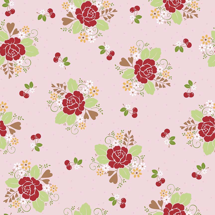 Sew Cherry 2 C5800 Pink