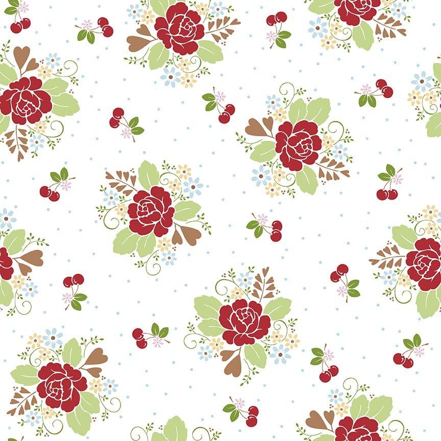 Sew Cherry 2 C5800 White