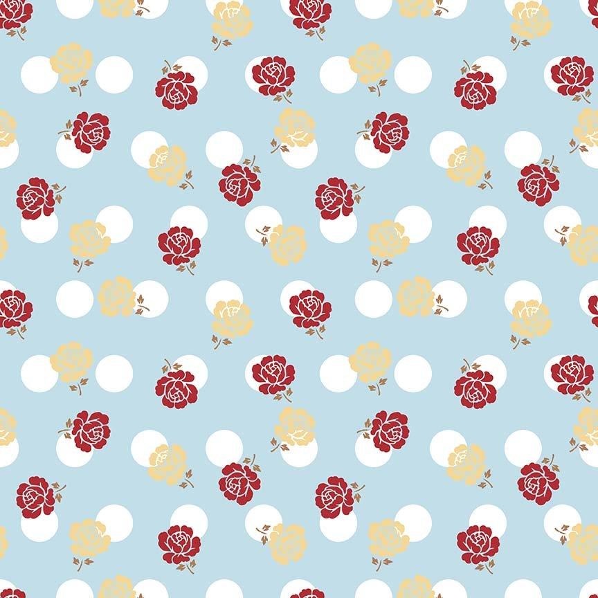 Sew Cherry 2 C5801 Aqua