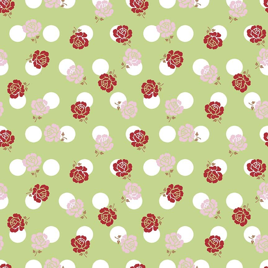 Sew Cherry 2 C5801 Green