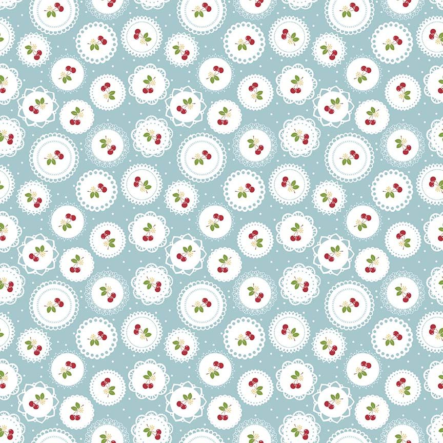 Sew Cherry 2 C5802 Aqua