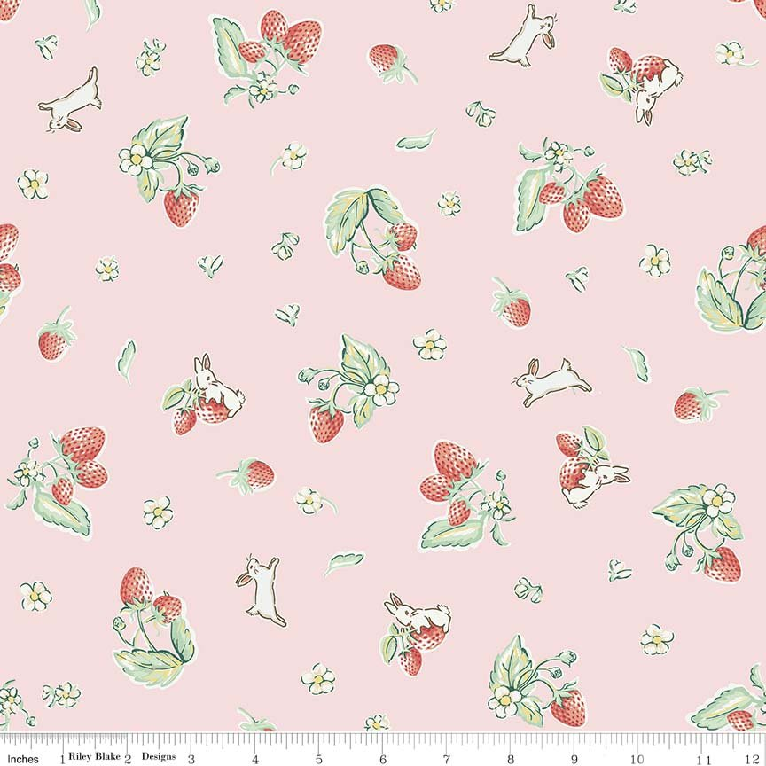 Bunnies & Cream C6021 Pink