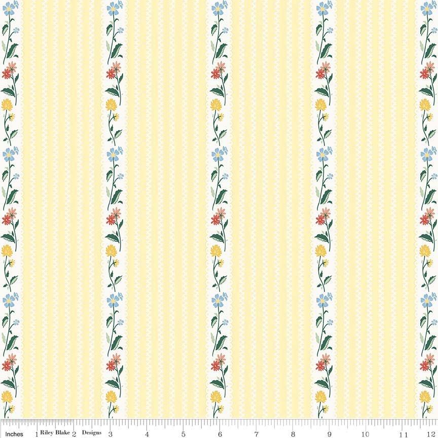 Bunnies & Cream C6023 Yellow
