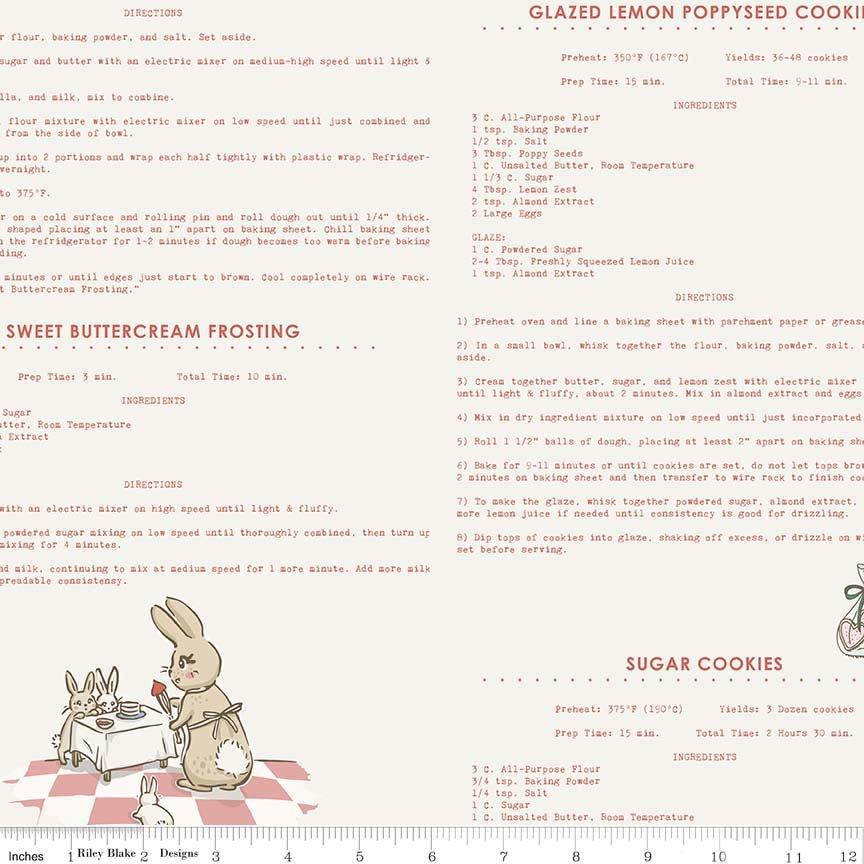 Bunnies & Cream C6024 Pink