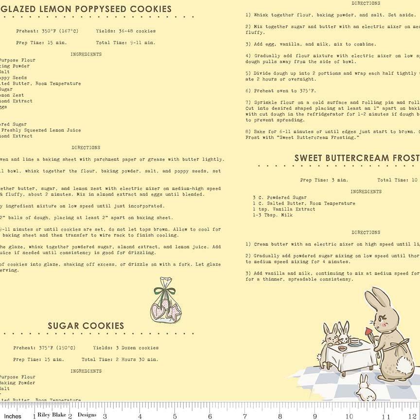 Bunnies & Cream C6024 Yellow