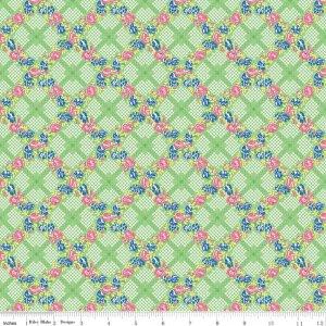 Mae Flowers C6912 Green