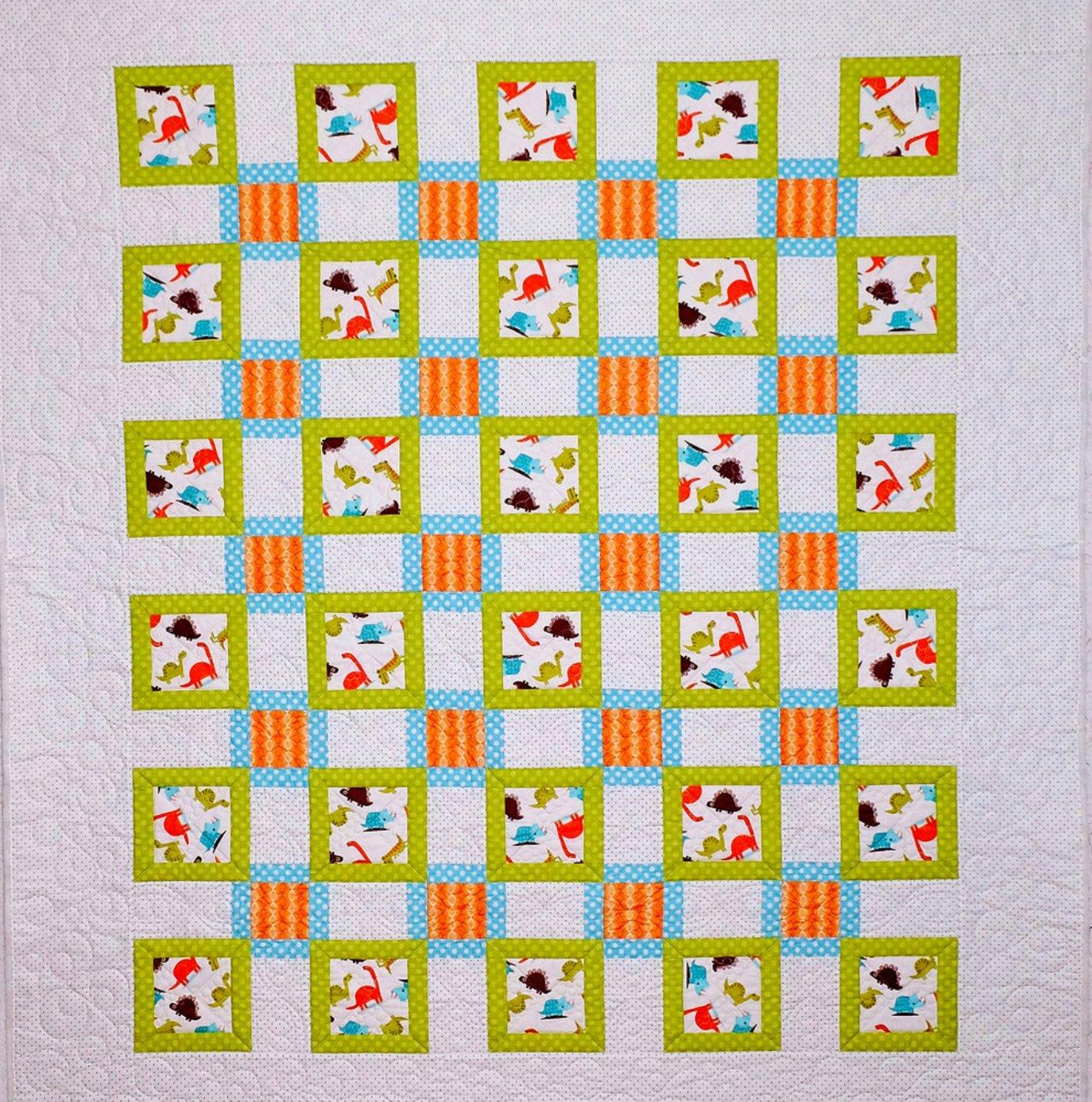 Dinosaur Tiles Pattern