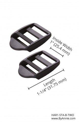 1 Black Strap Adjuster