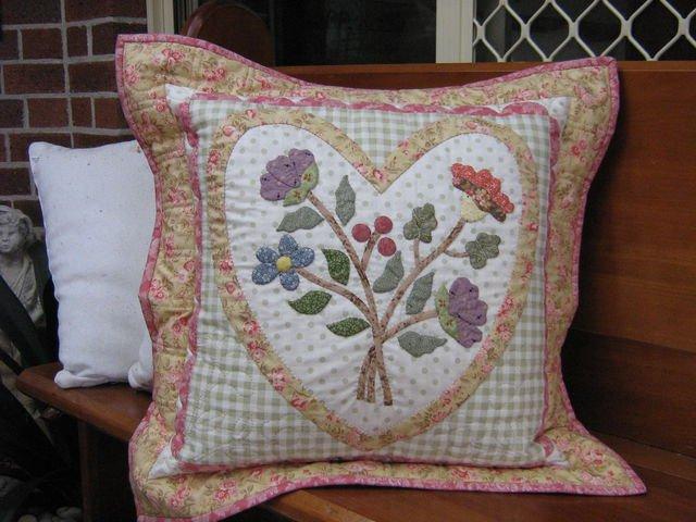 Heart Cushion Pattern