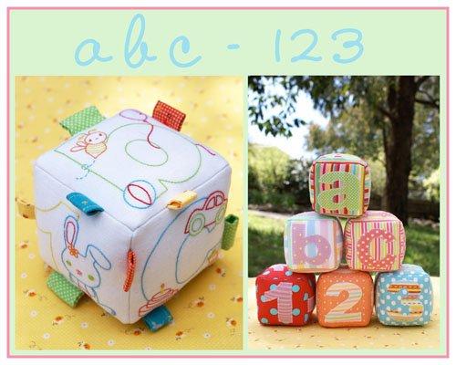 abc - 123 Pattern
