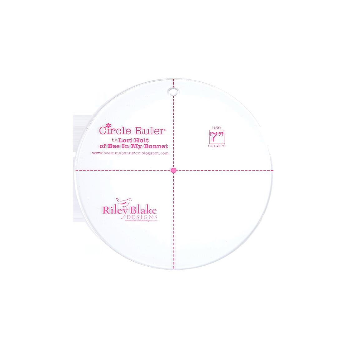 Lori Holt Circle Ruler 7 inch