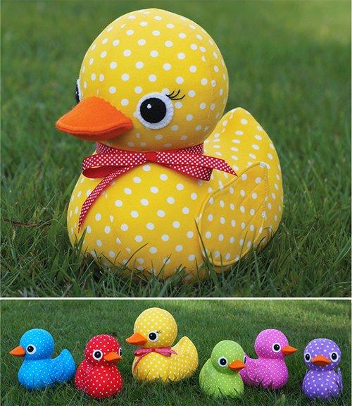 Five Little Ducks Pattern