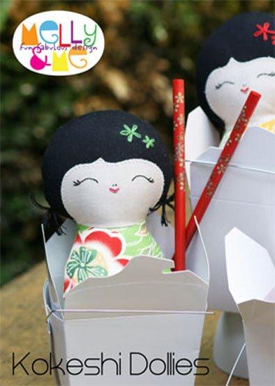 Kokeshi Dollies Pattern