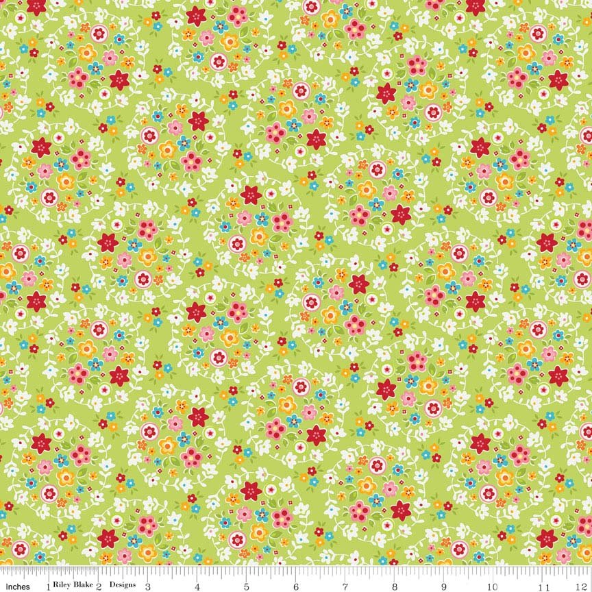 Bloom and Bliss - C4581 Green