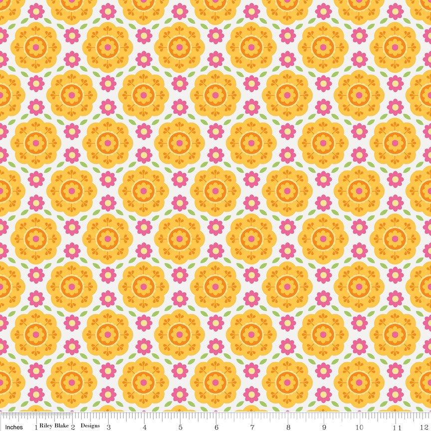 Summer Song 2 C4622 Yellow