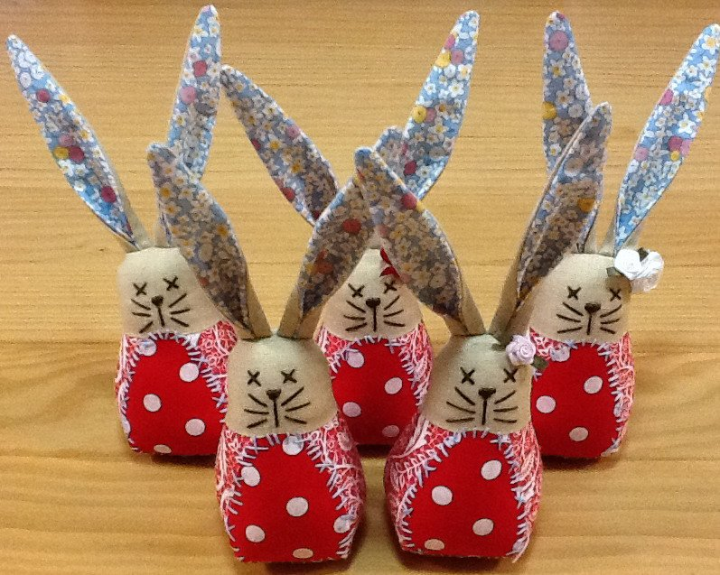 Quick Easter Bunnies Pattern