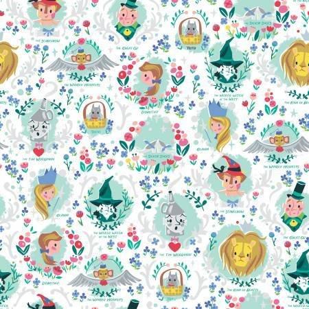 Dorothy's Journey  SC8681 White Sparkle