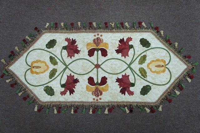 Sheherazade Table Runner Pattern