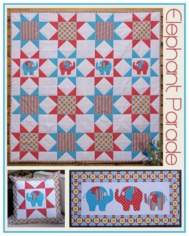 Elephant Parade Pattern