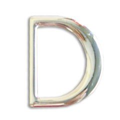 D Ring 30mm Silver