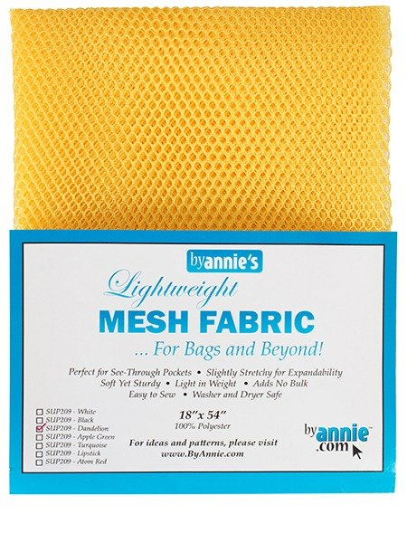 Mesh Fabric - Dandelion