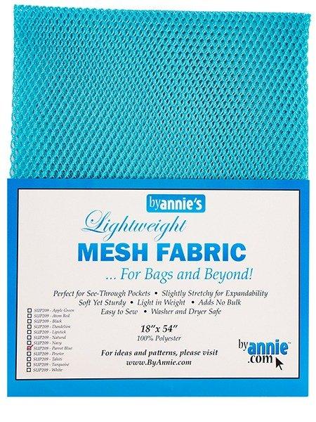 Mesh Fabric - Parrot Blue