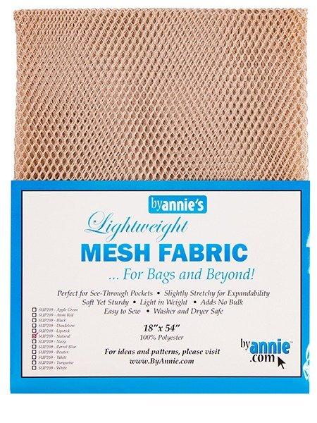 Mesh Fabric - Natural