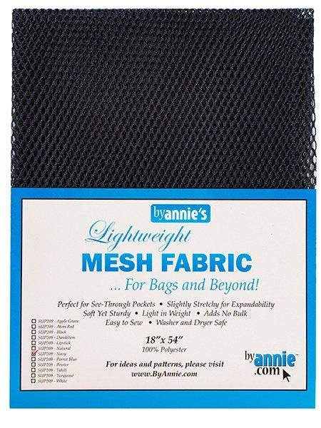 Mesh Fabric - Navy