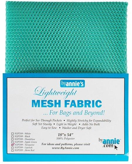 Mesh Fabric - Turquoise