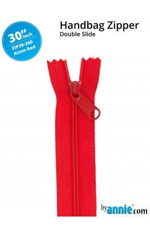 Zipper - 30 Atom Red