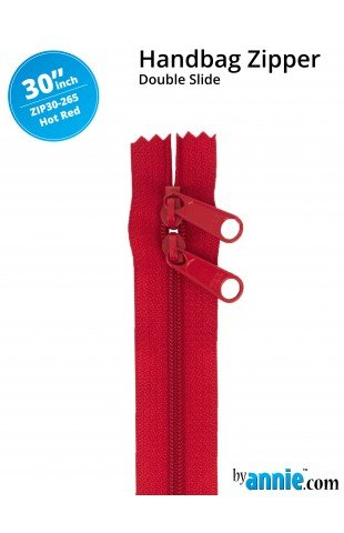 Zipper - 30 Hot Red