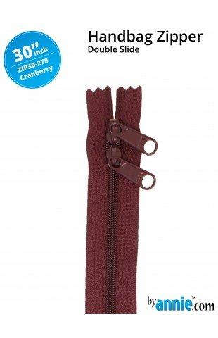 Zipper - 30 Cranberry