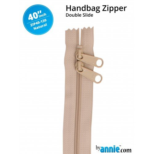 Zipper - 40 Natural