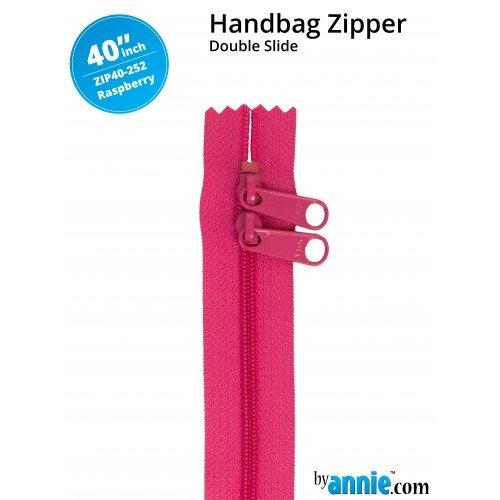 Zipper - 40 Raspberry